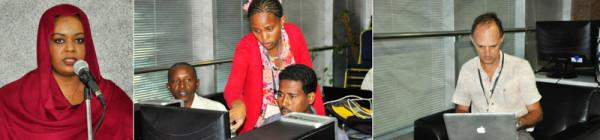 BecA bioinformatics workshop in Sudan 2014