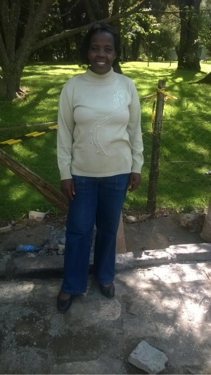 Jane Githinji, Assistant Director of Veterinary Services in Kenya and ABCF alumnus