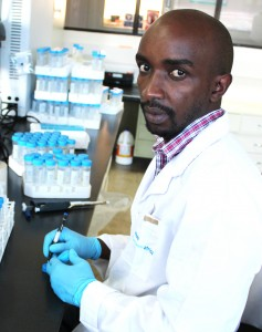 ABCF alumnus Kizito Nishimwe is currently at the Iowa State University through a scholarship from the Borlaug Higher Education for Agricultural Research and Development (BHEARD) program (photo: BecA-ILRI Hub)