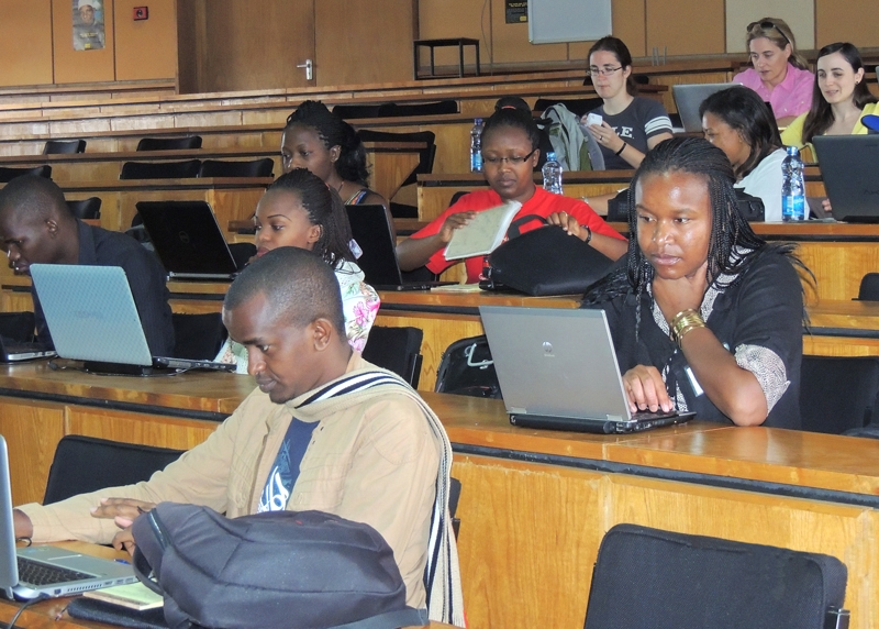 "Participants of the ""Comparative Genome Annotation of Major Tsetse Fly Species"" workshop in Nairobi, 17-21 March 2015"